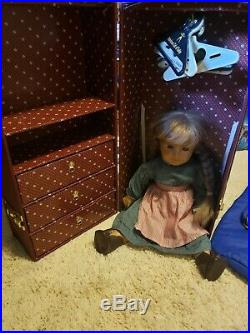 Vintage American Girl Doll Kirsten Lot Clothes Nightie Trunk Pleasant Company