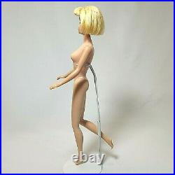 Vintage Barbie #1070 AMERICAN GIRL Blonde Bend Leg Original Swimsuit