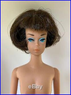 Vintage Brunette Bendable Leg American Girl Barbie Doll All Original Beautiful