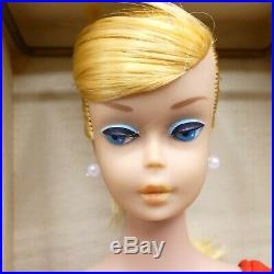 Vintage European Blonde Swirl Barbie doll with American Girl face MIB