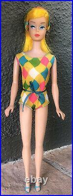 Vintage Golden Blonde American Girl Color Magic Barbie Japan Beautiful
