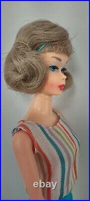 Vintage Japanese Side Part American Girl Barbie doll standard pink body RARE