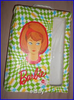 Vintage Side Part American Girl Barbie Rare 1958 Mattel Diamond Doll Case