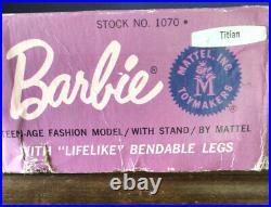 Vintage Titian American Girl Barbie. Original Peach Lips. NM In Box