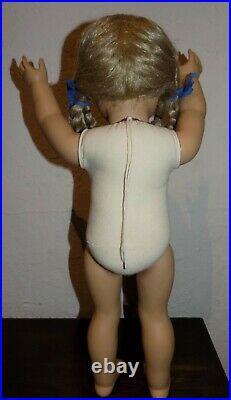 WHITE BODY Pleasant Company Kirsten American Girl Doll TINSEL w Box EUC