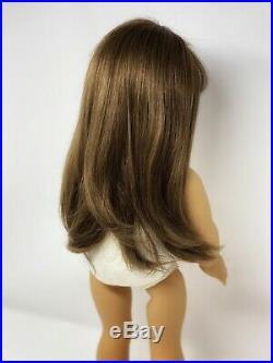 White Body American Girl Samantha Pleasant Company Long Eyelashes, Soft Hair