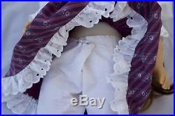 White Body Samantha American Girl 18 Doll Pleasant Company OOAK Historical Gotz